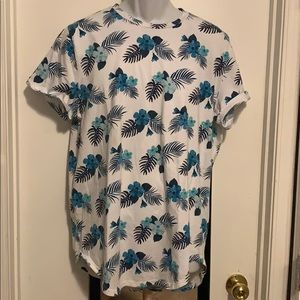 Hollister curved hem tee men's XL Preowned